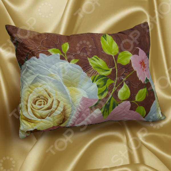 Zakazat.ru: Подушка «Уютная». Цвет: коричневый