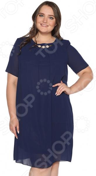 Платье Blagof Платье «Роскошная долина». Цвет: темно-синий