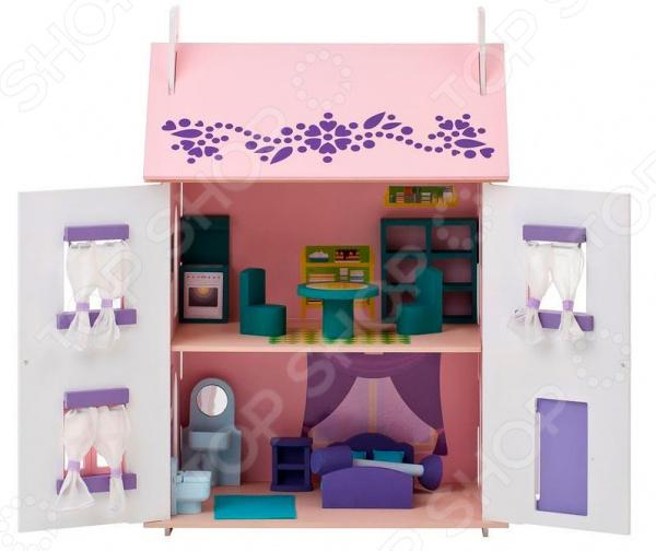 Кукольный дом с аксессуарами PAREMO «Анастасия»