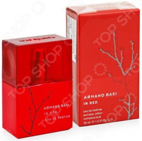 Парфюмированная вода для женщин Armand Basi In Red