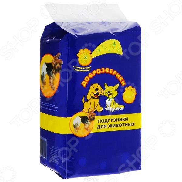Подгузники для собак и кошек Пелигрин «Доброзверики» супер флекс хондропротектор для кошек фл 150мл