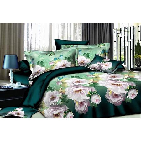 Купить Комплект постельного белья «Цветы принцессы-мятный бриз»