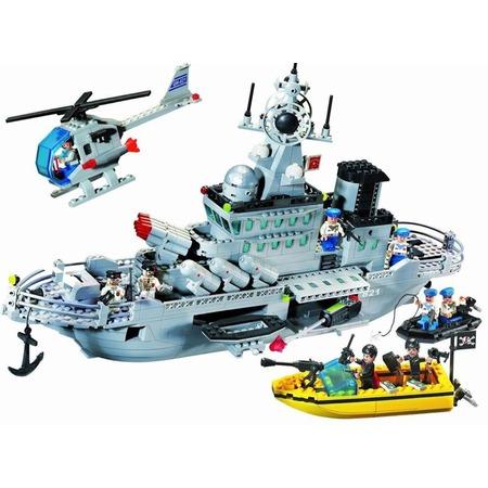 Купить Игровой конструктор Brick «Ракетный крейсер» 821
