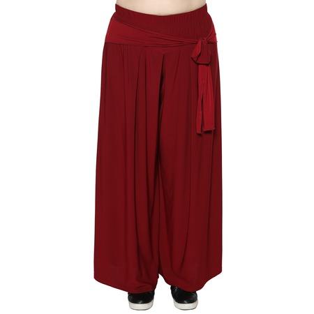 Купить Юбка-брюки Лауме-Лайн «Высокая мода». Цвет: бордовый