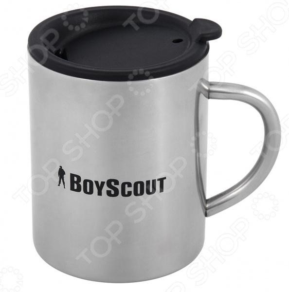 Термокружка Boyscout с крышкой термокружка с крышкой кофейная формула