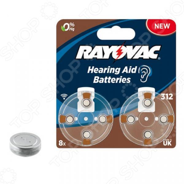 Элемент питания VARTA Rayovac AC.TYPE 312 8 alexika 25sb new