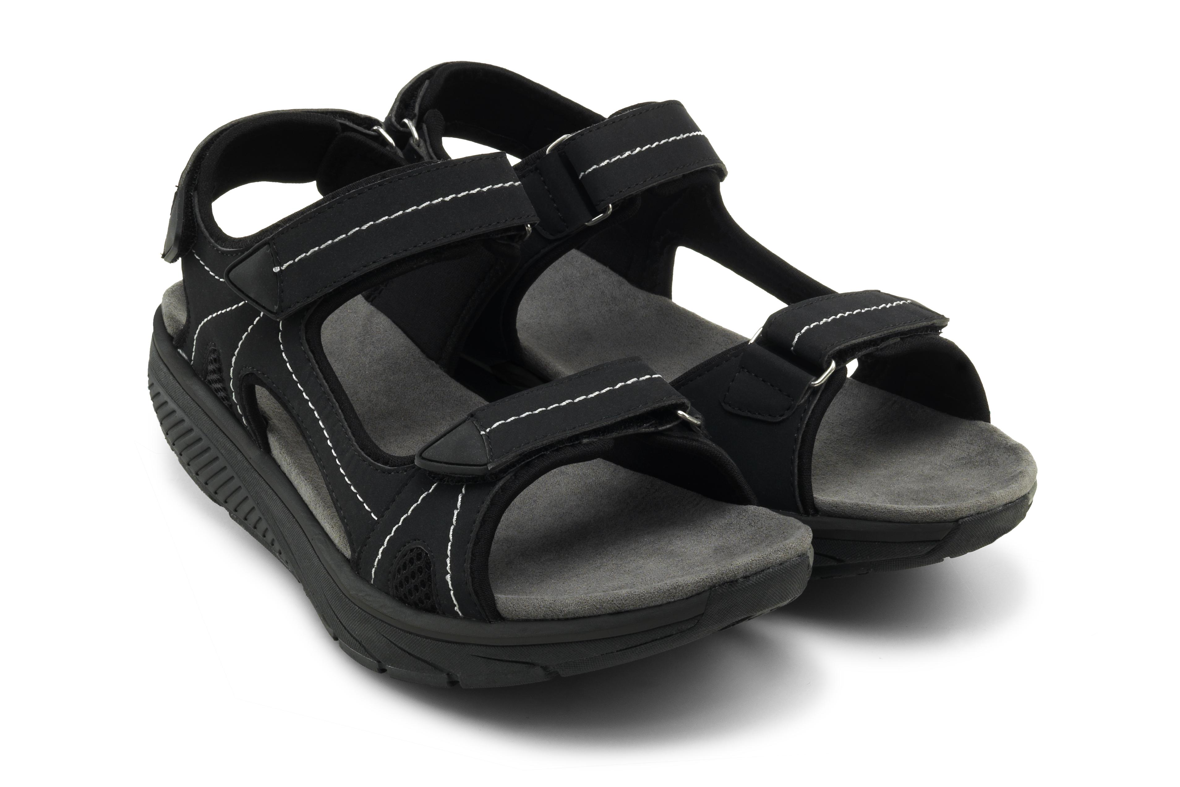 Дышащие cандалии мужские Walkmaxx Pure. Цвет: черный 3