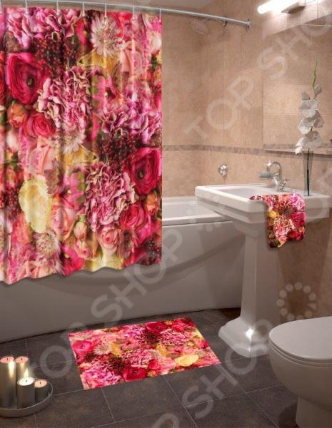 Коллекция для ванной комнаты «Великолепные розы» 1