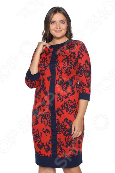 Платье VEAS «Благродная». Цвет: красный