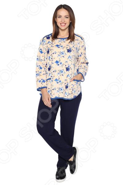 Костюм Алтекс «Домашняя забота». Цвет: бежевый костюм new style цвет бежевый