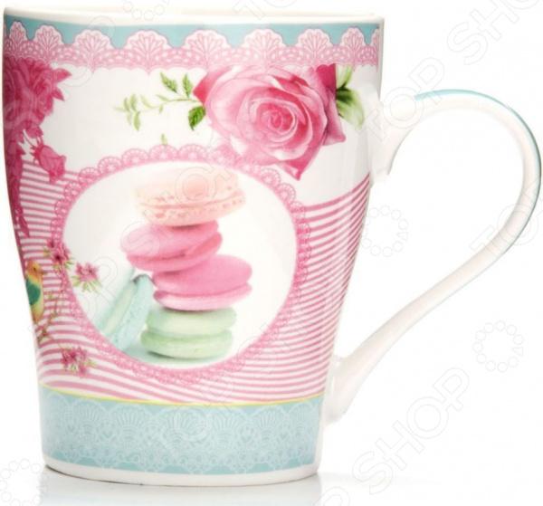 Кружка Loraine «Цветы» 26569