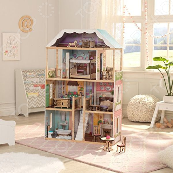 Домик для куклы KidKraft «Шарлотта»