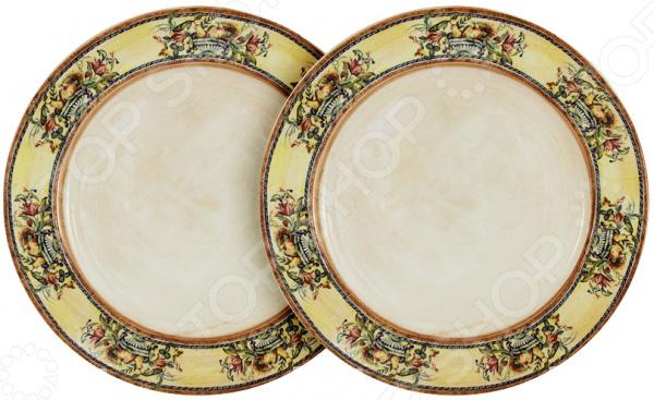 Изящество и универсальность Набор тарелок десертных LCS Старая Тоскана идеально подходит для сервировки как праздничного застолья, так и ужина в тихом и уютном домашнем кругу. Представленный комплект также можно использовать в качестве сервировочной посуды в местах общественного питания. Вы можете подать в тарелках не только десерт, но и салаты, соленья или закуску.  Тарелки изготовлены из высококачественной керамики и дополнены нежным узором. Этот материал издавна вошел в обиход человека, ведь его главными свойствами являются натуральность и экологичность. Классический стиль и универсальная цветовая гамма изделий придадут вашему ужину еще большей гармонии, эмоциональной наполненности и добавят нотку романтичности. Оцените преимущества набора тарелок от бренда LCS:  Изготовлен из качественных материалов и украшен изящным рисунком.  Имеет интересный дизайн, поэтому не останется незамеченным.  Универсален в применении.  Превосходно впишется в интерьер кухни и столовой.  Подойдет в качестве подарка для ваших любимых, родных и близких. LCS это молодая итальянская компания, которая специализируется на производстве керамической посуды и изделий для украшения интерьера. Данный бренд успешно сочетает высокотехнологичное производство и ручную работу профессиональных дизайнеров и художников, за счет чего конечная продукция получается невероятно качественной и красивой.