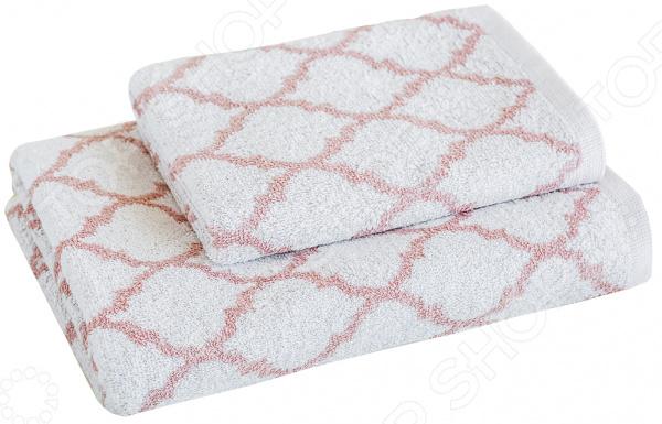 Полотенце махровое Василиса Fresh Look. Цвет: серебристо-розовый ночной крем fresh look