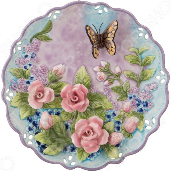 Тарелка декоративная Lefard «Бабочка» 59-476 тарелка декоративная lefard 59 565
