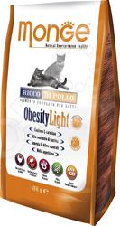 Корм сухой для кошек Monge Obesity light