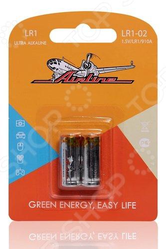 Набор батареек щелочных Airline LR1/910A набор батареек щелочных airline ag12 lr43