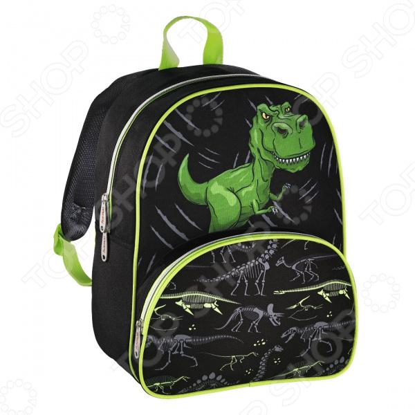 Рюкзак детский Hama Dino 00139099 рюкзак hama dino black green