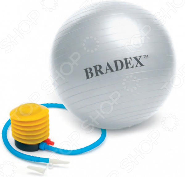 Zakazat.ru: Фитбол Bradex Fitness Ball с насосом