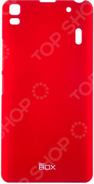 Чехол защитный skinBOX Lenovo A7000 чехлы для телефонов skinbox накладка для lenovo vibe c skinbox серия 4people защитная пленка в комплекте