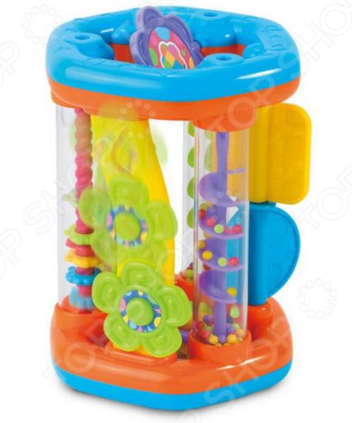 Игрушка развивающая для малыша HAP-P-KID «Каруселька» игрушки для ванны hap p kid игрушка для ванной со световым эффектом крабик