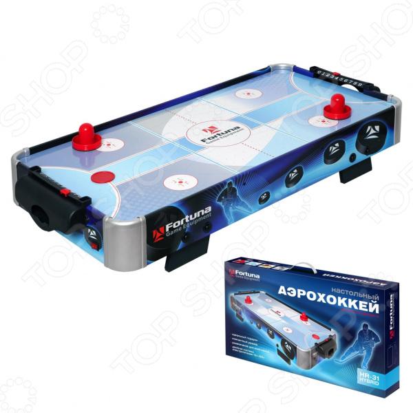 Аэрохоккей настольный Fortuna HR-31 Blue Ice Hybrid настольная игра fortuna hr 31 blue ice hybrid