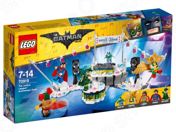Конструктор игровой LEGO The Batman Movie «Вечеринка Лиги Справедливости»