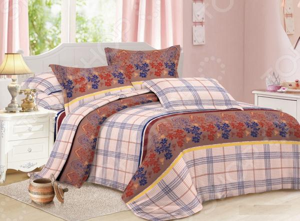 Комплект постельного белья «Сладкий сон». 1,5-спальный. Рисунок: осенние цветы
