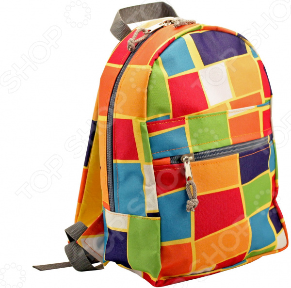 Рюкзак «Трек». Рисунок: геометрия