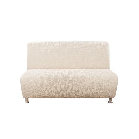 Купить Натяжной чехол на двухместный диван без подлокотников Еврочехол «Сиена Венера»
