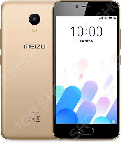 Смартфон Meizu M5c 16Gb великолепная, компактная современная модель с впечатляющими параметрами для развлечений и работы! Смартфон создан для долгой и качественной службы, поэтому сочетает в себе прочные и эффективные материалы, эргономичность, идеальный баланс между производительностью и временем работы от аккумулятора, мощную и современную систему с регулярным обновлением программного обеспечения. Современная модель Meizu M5c позволит вам оставаться со своими родными и близкими на связи, где бы вы не находились. Высокое качество связи, возможность попеременного использования сразу двух sim-карт обеспечивают максимальный комфорт и быстрый доступ ко всем вашим контактам. Теперь вам больше не придется все время носить с собой два телефона: личный и рабочий. Компактная и практичная модель позволит вам объединить их в одно устройство!  Данная модель оснащена 2 слотами один слот предназначен для расположения основной nano-SIM, а второй можно использовать для поддержки второй nano-SIM карты или в качестве разъема для microSD. Высокий уровень производительности В основе устройства лежит мощный 4-ядерный 64-битный процессор MediaTek MT6737, который обеспечивает высокий уровень графики и продолжительную работу устройства от аккумулятора. Новая технология Flyme 6, One Mind AI призван увеличивать мощность и интеллектуально распределяет память, обеспечивает высокую производительность.  Несмотря на небольшое вес всего 135 г, телефон оснащен мощным аккумулятором емкостью 3000 мАч. Встроенная система Flyme также предлагает конструктивные решения для оптимизации работы устройства при разных нагрузках. Теперь вы сможете выполнять любые, даже самые энергозатратные задачи. Для ярких и красивых фотографий Данная модель оснащена основной 8 Мп камерой с 4-элементынм объектовым. Отличная апертура f 2.0 дополнена двухтоновой вспышкой, что позволяет делать удивительно качественные снимки высокой четкости даже при слабом уровне освещения. За счет 18 стильных фильтров редактирования фото буд