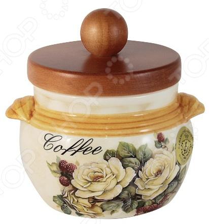 Банка для сыпучих продуктов LCS «Роза и малина. Кофе» imari банка для сыпучих продуктов магнолия