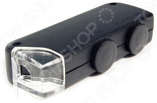 Микроскоп карманный Bresser Bresser 60x-100x с подсветкой микроскоп bresser брессер advance icd 10x–160x