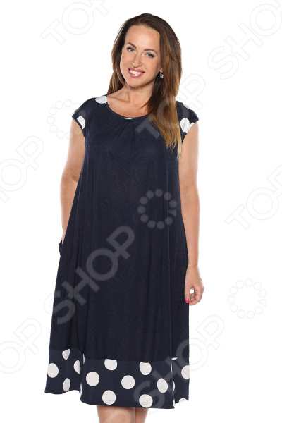 Платье Лауме-Лайн «Серенада любви». Цвет: темно-синий