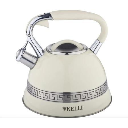 Купить Чайник со свистком и термо-рисунком Kelli KL-4506