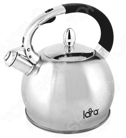 Чайник со свистком LARA LR00-10 чайник lara lr00 62