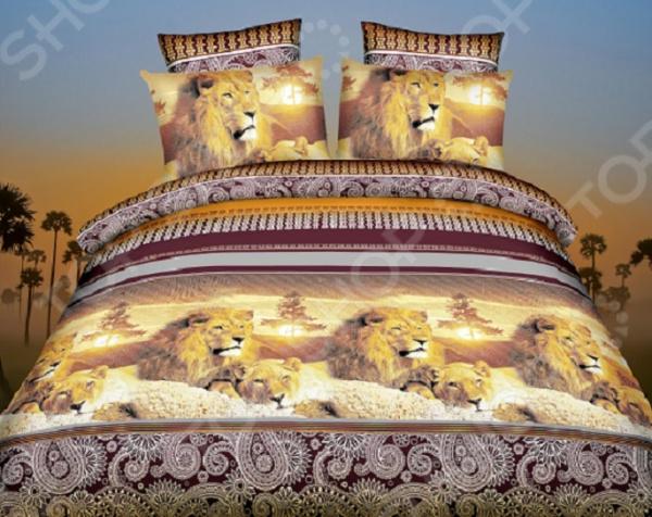 Комплект постельного белья «Золотые сны». 1,5-спальный