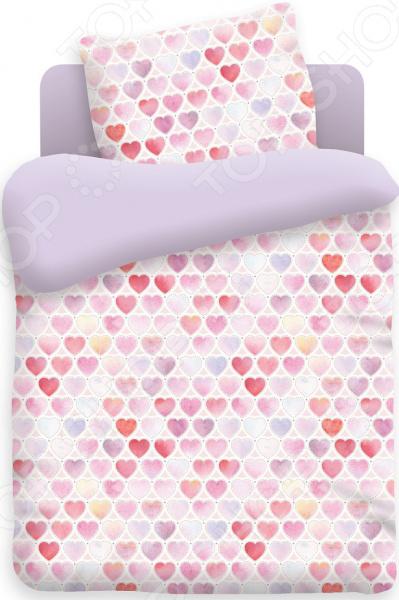 Ясельный комплект постельного белья Непоседа «Сердечки» Непоседа - артикул: 1320998