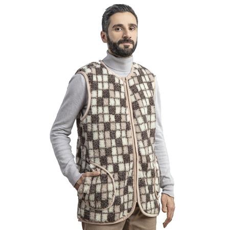 Купить Жилет WoolHouse «Бари». Рисунок: «клетка»
