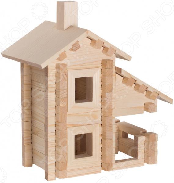 Конструктор деревянный Model Toys «Деревенский домик» конструктор деревянный model toys домик из панелек