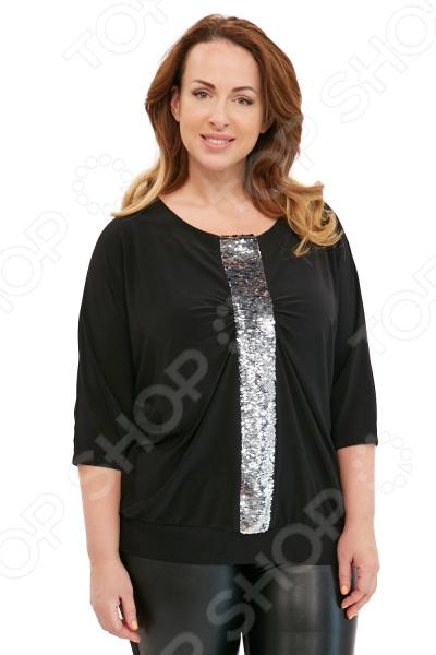 Блуза Blagof «Лунная дорожка». Цвет: серебряный блуза blagof блуза мерси цвет персиковый