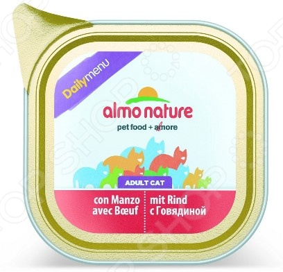 almo nature DailyMenu Adult с говядиной 39498
