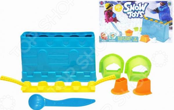 Набор для лепки замков из снега 1 Toy Т13993