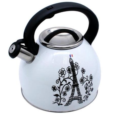 Купить Чайник со свистком и термо-рисунком Катунь KT-130