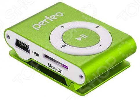MP3-плеер Perfeo Music Clip Titanium VI-M001