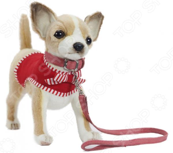 Мягкая игрушка Hansa «Чихуахуа в красном» чихуахуа в красном 27см