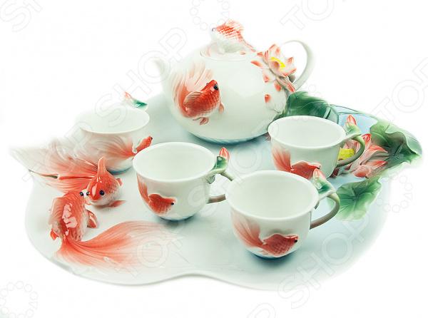 Набор для чайной церемонии «Золотая рыбка»