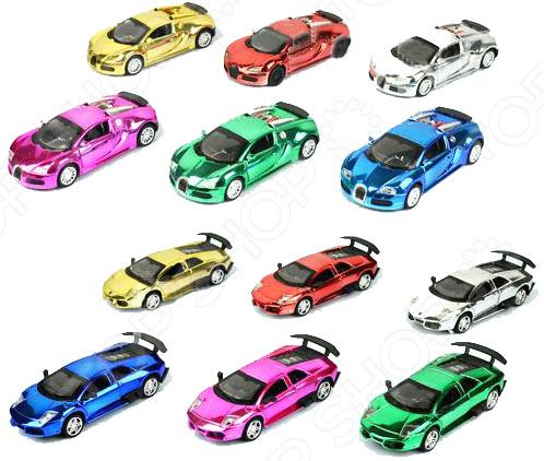 Машинка инерционная игрушечная Tongde «Автосталь: гоночные». В ассортименте корзина декоративная home queen ромашки цвет желтый 16 х 16 х 8 см