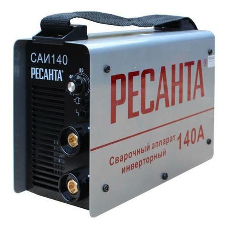 Купить Сварочный аппарат инверторный Ресанта САИ 140