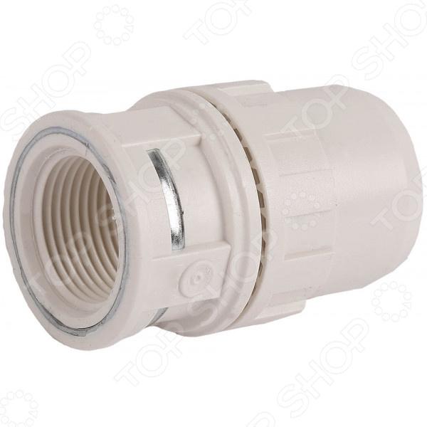 Муфта соединительная Зубр «ШиреФит» 51462 муфта водосточной трубы соединительная пластиковая docke lux d100 мм пломбир